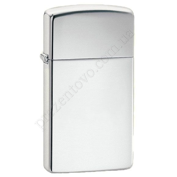 Запальничка Zippo 1610 Slim High Polish Chrome