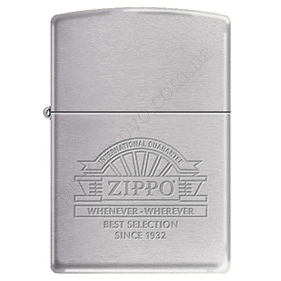 Запальничка Zippo 266700 Whenever Brushed Chrome