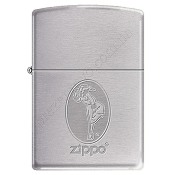 Запальничка Zippo 274171 Girl Brushed Chrome