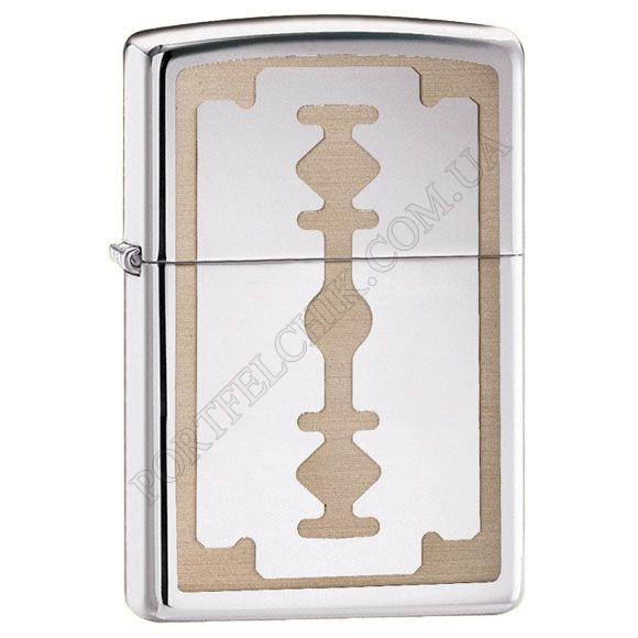 Зажигалка Zippo 28137 Razor Blade High Polish Chrome