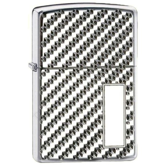 Запальничка Zippo 28185 Armor Engine Turn Pebble High Polish Chrome