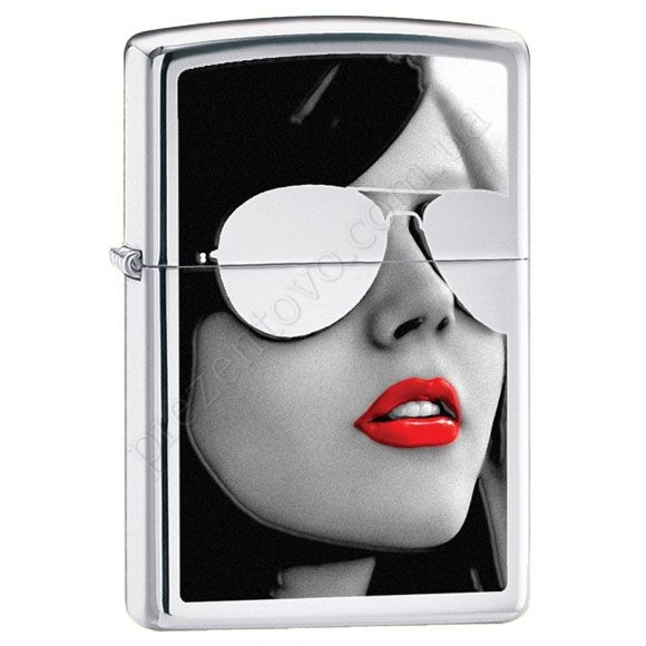 Зажигалка Zippo 28274 BS Sunglasses High Polish Chrome