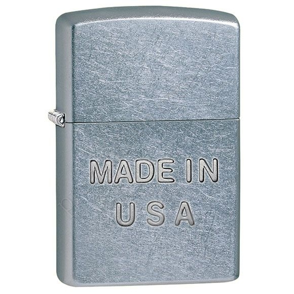 Запальничка Zippo 28491 Made In USA Street Chrome